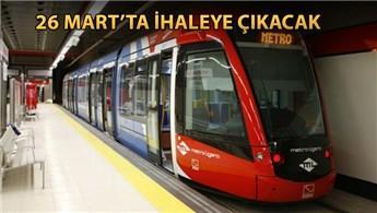 İstanbul'a 70 kilometrelik yeni metro hattı yapılacak