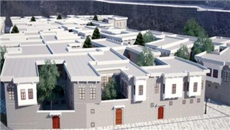 44 geleneksel Diyarbakır evinin yapımı sürüyor