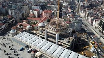 Taksim Cami'nin yüzde 80'i tamamlandı!