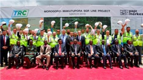 Yapı Merkezi, Tanzanya'daki demiryolu projesinin temelini attı!