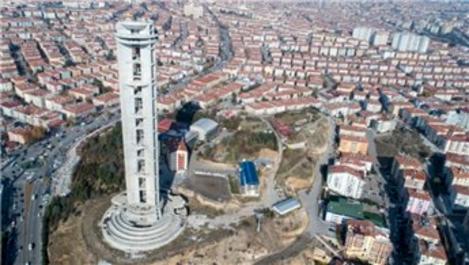 Keçiören'deki Cumhuriyet Kulesi tadilattan geçirilecek