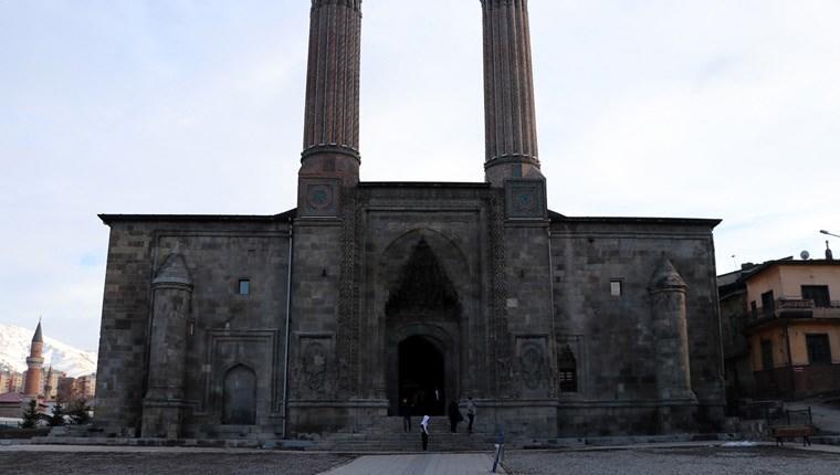 Çifte Minareli Medrese yeni yüzüyle ziyaretçilerini ağırlayacak