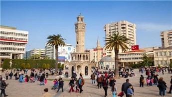 İzmir'e gelen yabancı turist sayısında artış yaşandı