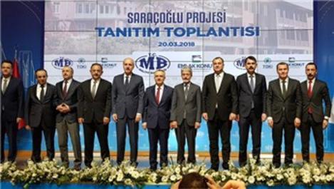 Ankara Saraçoğlu Projesi tanıtım toplantısı yapıldı