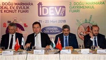 4. İDEV ve Doğu Marmara Gayrimenkul Fuarı kapılarını açıyor