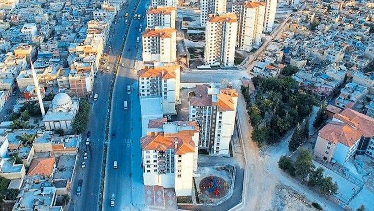 Gaziantep Şahinbey'de modern konutlar yükseliyor