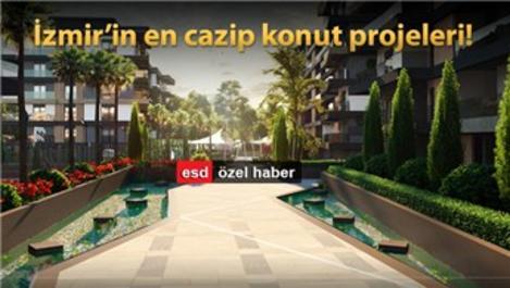İzmir'de yükselen markalı konut projeleri!