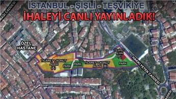 İstanbul Şişli Teşvikiye ihalesinin 2. oturumu yapıldı