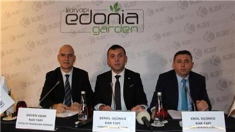 'Edonia Garden' 60 ay 0 faiz fırsatıyla satışta!