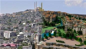 Kahramanmaraş'ta kentsel dönüşüm çalışmaları devam ediyor