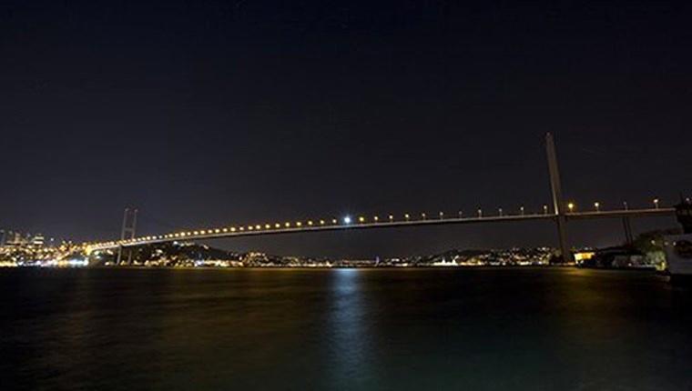 15 Temmuz Şehitler Köprüsü karanlığa büründü!