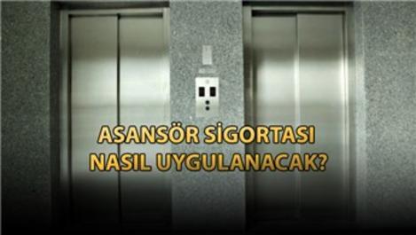 Asansörlerde zorunlu sigorta dönemi başlıyor