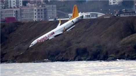 Trabzon uçak kazası havalimanında onarım çalışmalarını başlattı