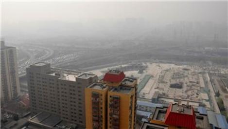 Çin'de yoğun hava kirliliği nedeniyle sokağa çıkma yasağı