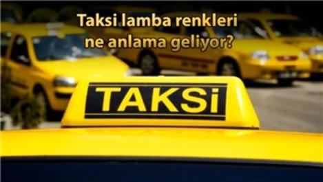 İBB'den taksilerin tepe lambaları ile ilgili düzenleme!