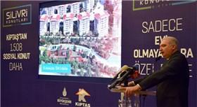 Başkan Uysal: Vatandaşlar, Silivri 3.Etap'ta faizsiz konut alacak