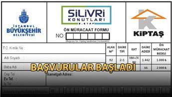 KİPTAŞ Silivri 3. Etap için ön müracaat formu ESD'de!