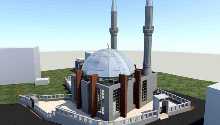 Bağcılar Yüzyıl Merkez Cami'nin temeli atıldı