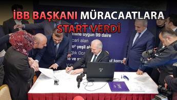 KİPTAŞ Silivri 3. Etap'ta ilk başvuruları Mevlüt Uysal aldı