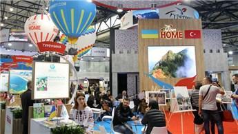 Ukrayna'da turizm fuarında Türkiye standına büyük ilgi!