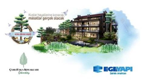 Ege Yapı'dan Çekmeköy'de Çamlıyaka Konakları!