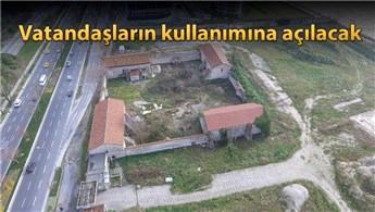 Ataköy'deki Baruthane arazisi yeşil alana çevrildi