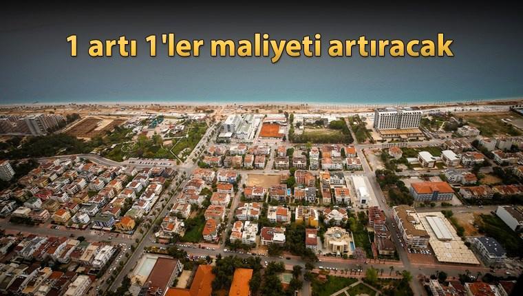 'Antalya'nın 2040'a kadar 952 bin konuta ihtiyacı var'