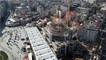 Taksim Camisi'nin yüzde 85'i tamamlandı