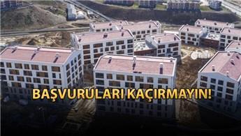 TOKİ İstanbul Kayaşehir konutlarına başvurular başladı
