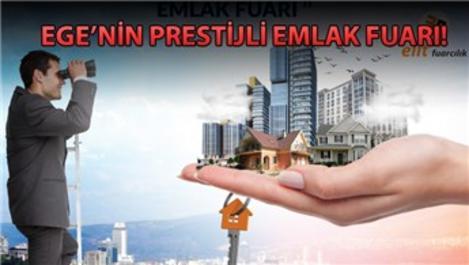 İzmir Emlak Gayrimenkul ve Yatırım Fuarı başlıyor