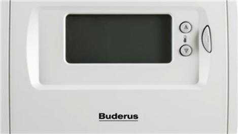 Buderus, enerji tasarrufu için oda kumandası öneriyor!