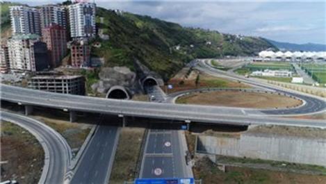 Kanuni Bulvarı Projesi'nde bir tünel daha hizmete girdi!