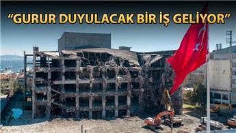 AKM'nin yıkımı gelecek ay tamamlanacak