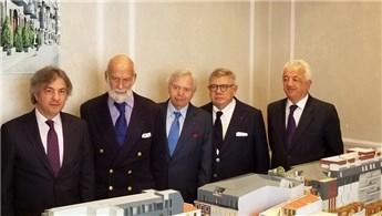 Xavier Hermes ve Kent Prensi Michael, Taksim 360'ı inceledi