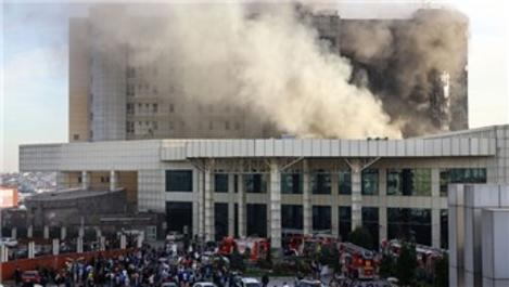 Taksim Eğitim ve Araştırma Hastanesinde yangın!