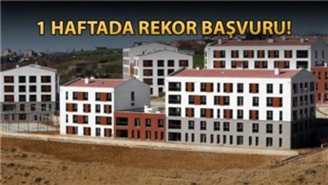 TOKİ'nin Kayaşehir konutlarına 8 bin başvuru!