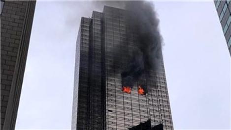 New York'ta Trump Tower'da yangın çıktı