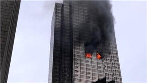 ABD'deki Trump Tower'ın 50. katında yangın çıktı
