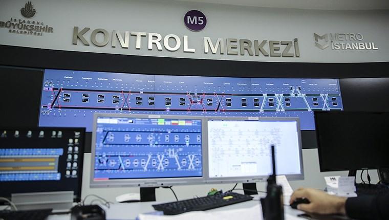 Türkiye'nin ilk sürücüsüz metrosu 7/24 izleniyor