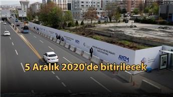 AKM-Gar-Adliye-Kızılay metro hattı çalışmaları sürüyor