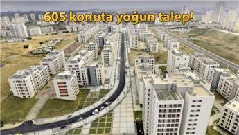TOKİ Kayaşehir'de 605 konuta 16 bin 946 başvuru geldi