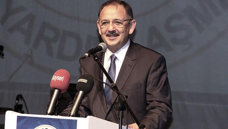 Özhaseki: '15 yıl içinde Türkiye'yi yeniden ihya ve imar ederiz'