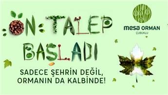 MESA Orman 26 Nisan'da basına tanıtılıyor