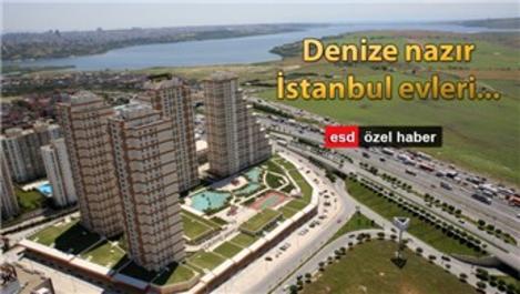 İstanbul'da deniz manzaralı konut projeleri!