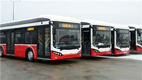 Yüzde yüz elektrikli ve yerli otobüsler yola çıkıyor!