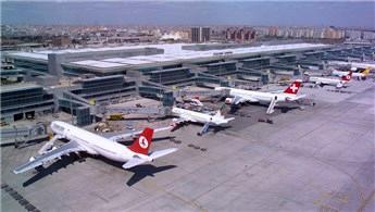 Son beş yılda uçuşların yarıya yakını İstanbul'dan yapıldı