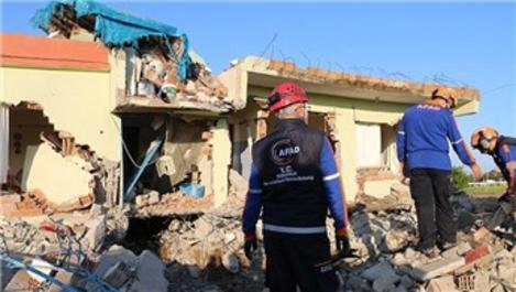 Depremle sarsılan Samsat'ta 157 konut hasar gördü