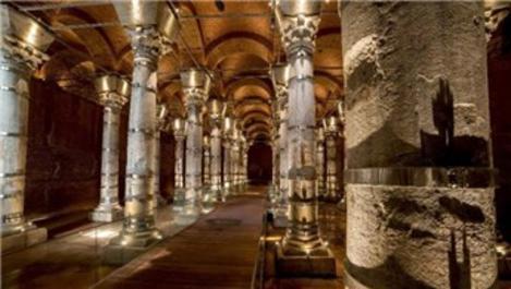 1600 yıllık Şerefiye Sarnıcı'nın restorasyonu tamamlandı