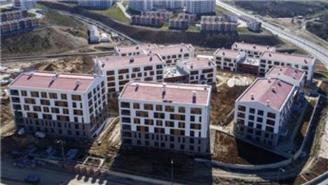 TOKİ'nin İstanbul Kayaşehir evleri sahiplerini buldu