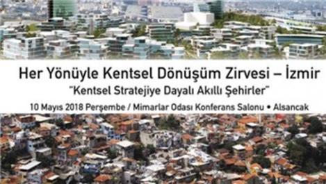 11. Her Yönüyle Kentsel Dönüşüm Zirvesi İzmir'de yapılacak